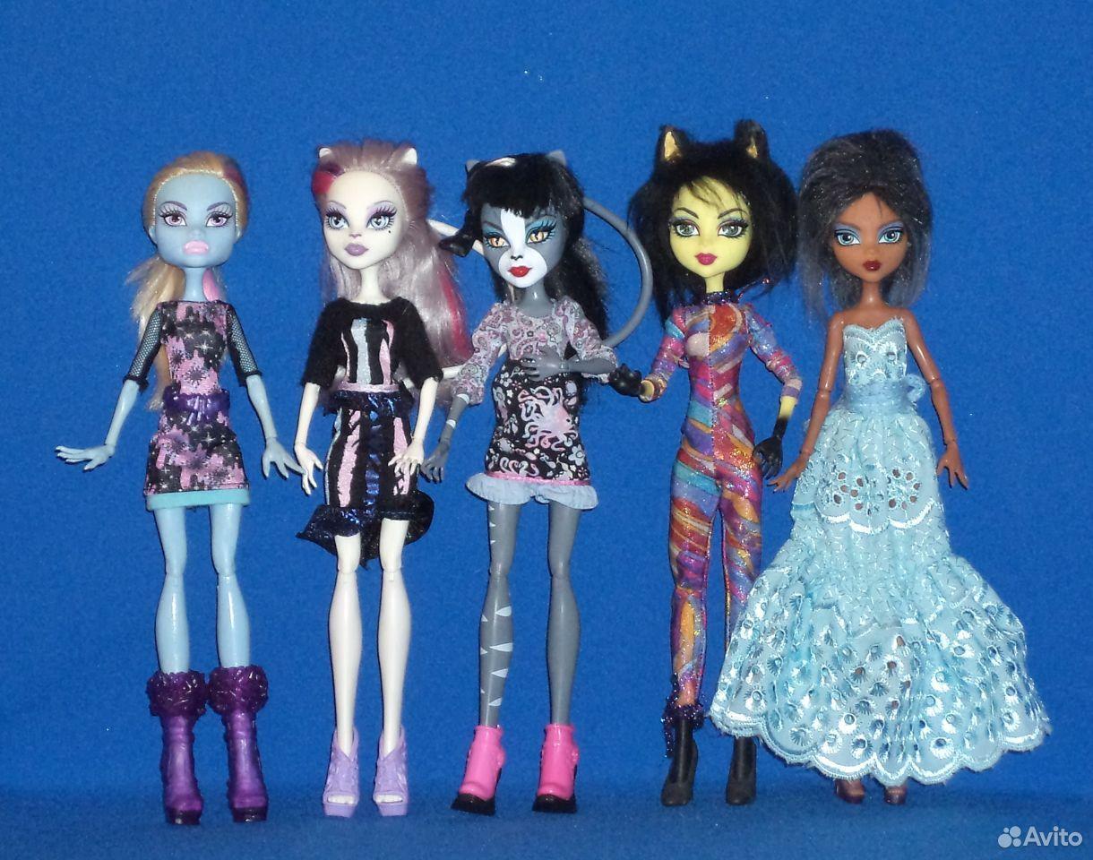 Куклы Монстер хай: Эбби, горгона, пчелка  89307162691 купить 1