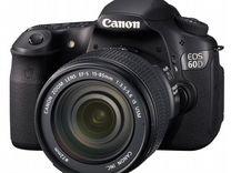 Canon 60D(15-85mm IS) Бленда.Сумка.8гб.Коробка