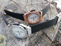 Брендовые часы, кварцевые (золото и серебро)