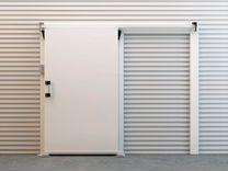 Откатные, распашные холодильные двери ирбис