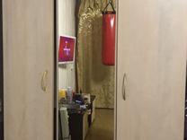 Шкаф, кровать, тумбы и комод